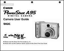 Canon Powershot A95  Digital Camera User Guide Instruction  Manual