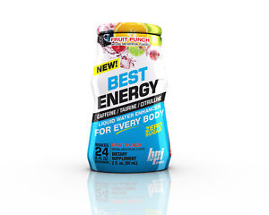 Bpi Liquid Energy Water Enhancers 24 Serve Just Add to Water Pre Workout Strong