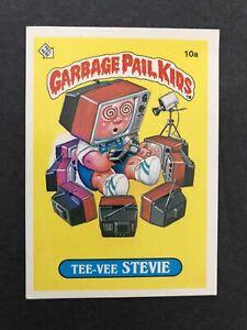 First Series garbage pail kids series 1 Gpk OS1 Tee Vee Stevie White Blob Error