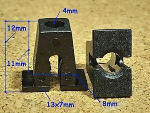 20 plastic grommet expanding locking nut screw fastener clip