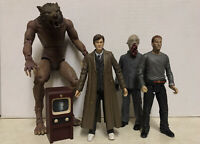 "Doctor Who Series 2 5"" Action Figures X5 Bundle Lot Character Werewolf Ood 2006"
