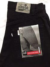 SilverTab Levi's Shorts Mens Size 30 Loose Pleated Black  NWT