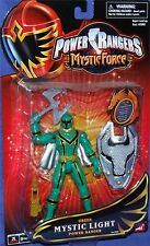 "Power Rangers Mystic Force 5"" Green Mystic Light Ranger New Factory Sealed 2006"