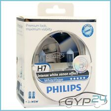 Set Philips whitevision h7 faros coche lámpara lámpara incandescente pera 31653790