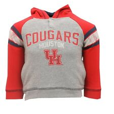 Houston Cougars Official NCAA Youth Kids Size Distressed Hooded Sweatshirt New