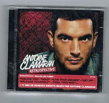 ANTOINE CLAMARAN - RÉTROSPECTIVE - 2 CD SET - 33 TITRES - 2012 - NEUF NEW NEU