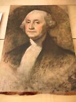"10 George Washington Prints By Louis F Dow Co - 8x11"" - 1932 Bicentennial Insert"