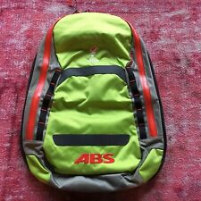 ABS Powder 5 Liter Zip-On Avalanche Backpack Cover Lime Green and Red