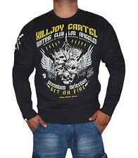 Yakuza Premium Pullover Sweatshirt YPP 2327 schwarz grau M L XL XXL XXXL XXXXL
