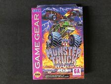 USHRA Monster Truck Wars Sega Game Gear New Sealed