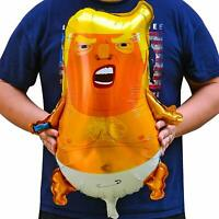 1X Cartoon Donald Trump Baby Shape Blimp Balloon Funny Activities Decoration