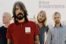 "FOO FIGHTERS POSTER ""LICENSED"" BRAND NEW ""DAVE GROHL, NATE MENDELL"""