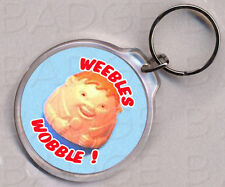 WEEBLES WOBBLE KEYRING - SO COOL!