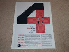 RCA 7025,7199,6973,7027-A Tube Ad, 1959, Articles, 1 pg