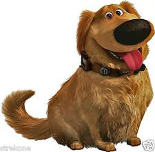 "Walt Disney - Pixar Studios ""Up"" Movie Dug Puppy Dog - Window Decal StickOn -New"