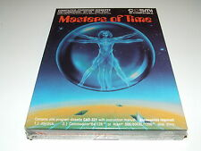 MASTERS OF TIME by COSMI (DISK) Commodore 64 & atari  SEALED old stock RARE!