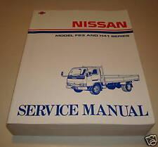 Werkstatthandbuch Nissan F 23 und H 41 ab 07/1992
