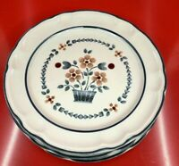 Cumberland Stoneware by Hearthside-Brambleberry Made in Japan 6 Dinner Plates +
