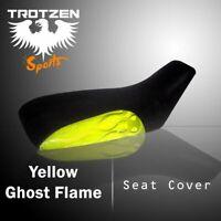 Honda ATC250ES Big Red 1985-1987  Yellow Ghost Flame Atv Seat Cover