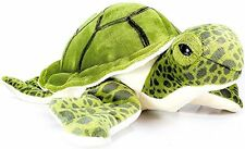 Turquoise the Green Sea Turtle | 9 Inch Tortoise Stuffed Animal Plush | By Tiger