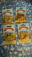 Disney Donut Shop 4 pin Set includes Goofy, Tigger, Pluto and Chip&Dale LE 2000