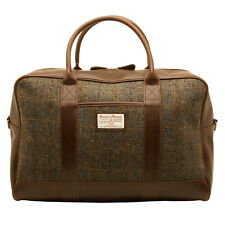 The British Bag Company - Carloway Harris Tweed Travel Holdall/Bag