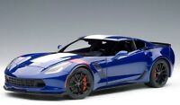 71275 AUTOart 1:18 Chevrolet Corvette C7 Grand Sports Blue / White Stripe