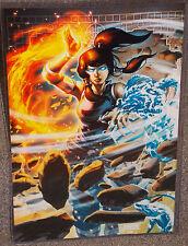 Avatar Korra Glossy Art Print 11 x 17 In Hard Plastic Sleeve