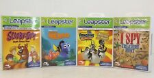 Leap Frog Leapster Learning Games - Scooby Doo, I Spy, Finding Nemo, Madagascar