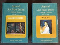 The Annual Art Sales Index 1980/1981 Season - Richard Hislop UK Price Guide