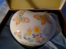 PAPERWEIGHT Noritake Valentine heart in gift box vintage -1978  RARE FIND LOVELY