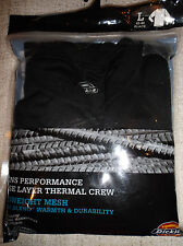 Men's size L 42-44 Dickies Winter Work Thermal Top Shirt MID Weight NWT