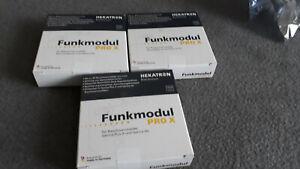 Funkmodul Pro X für Rauchmelder Hekatron Genius Plus X oder Hx 3 Stück