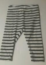 JANIE AND JACK striped black white leggings  Pants 6-12 mths