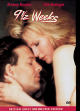 9 1/2 Weeks (DVD, 2000, Directors Cut Uncut, Uncensored Version)