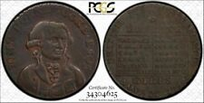 1794 Great Britain Middlesex Half 1/2 Penny PCGS AU53 Coin In High Grade