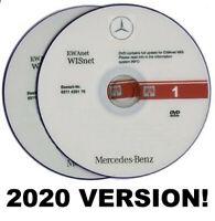 2020 Mercedes + Smart WIS ASRA EPC Workshop Service Repair Manual 4-DVD BOX SET
