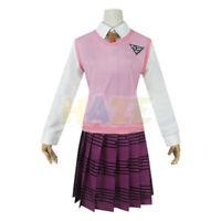 Danganronpa V3: Killing Harmony Akamatsu kaede Uniform Cosplay Kostüm Frauen