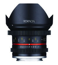 Rokinon 12mm T2.2 Compact High Speed Wide Angle Lens (Fujifilm X)