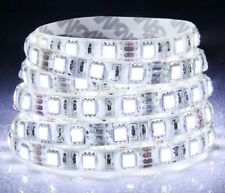 5M Cool White 5050 SMD 300 LED Strip light flexible 60led/m 12V waterproof IP65