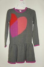 Gymboree St.Valentine Heart Sweater Dress Girls Size:8 (7-8 Years Old)
