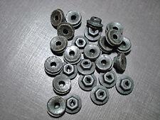 """25 pcs 1//8/"""" round push on clips for emblems script name plates ornaments Mopar"""