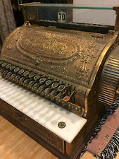 National Cash Register 35 3/4, Nickel Plated Brass, Sn 55302, 1890-1910