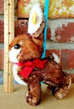 Vintage # 2940/18 Steiff Hopping Rabbit - A Vibrant Tipped Mohair All ID OSSI!