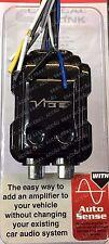 Vibe Coche 2 Canal Cable de altavoz a 2 convertidor de línea de salida RCA de nivel bajo LOC2-V5