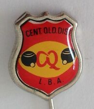 Central Queensland District Bowling Club Badge Pin Lawn Bowls (M23)