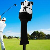 Panda Golf Club Head Protective Cover Headcover New for 460CC No.1 Driver Wood