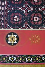 ITALY Renaissance Ornamentation of Rugs Carpets - A. RACINET Color Litho Print