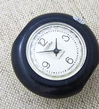 SLAVA 1601 UNUSUAL PLASTIC CASE 1980s Soviet Russian Mechanical Wrist Watch