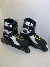 Bauer x-act X-TRA Hockey Roller Blades Skates Men Size 10 Wheel Brake Inline